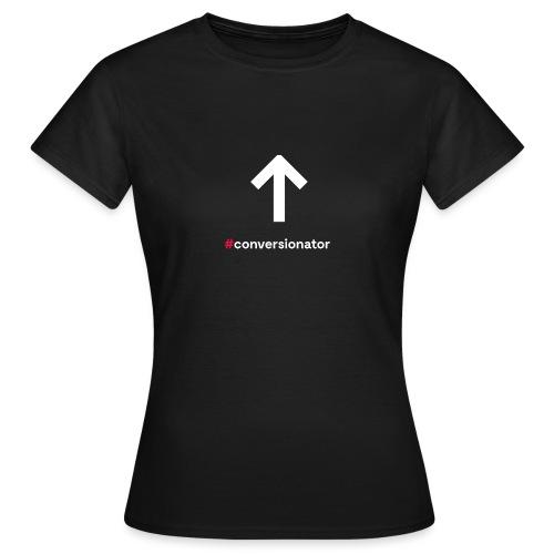 Conversionator mit Pfeil ohne Kreis - Frauen T-Shirt