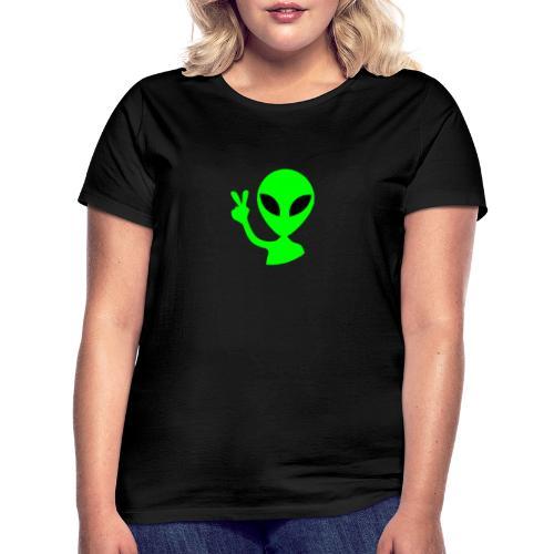 Peace out Alien - Women's T-Shirt