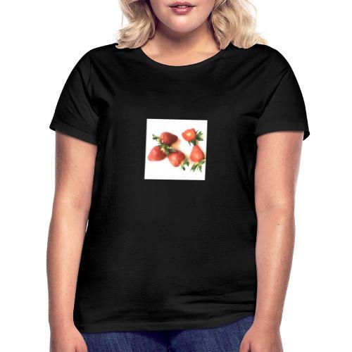 Rode Erdbeern - Frauen T-Shirt
