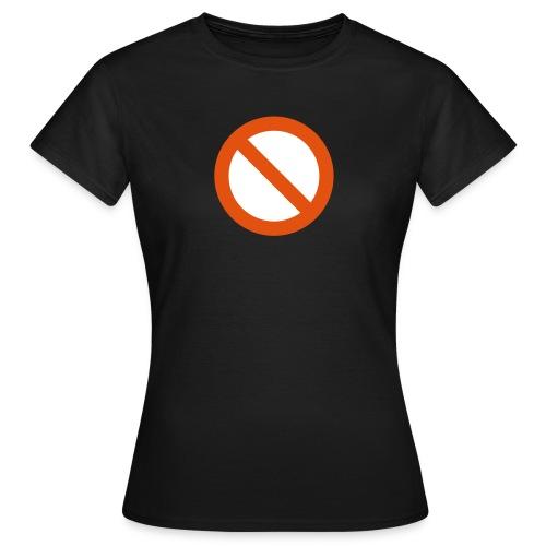 verboden - Vrouwen T-shirt