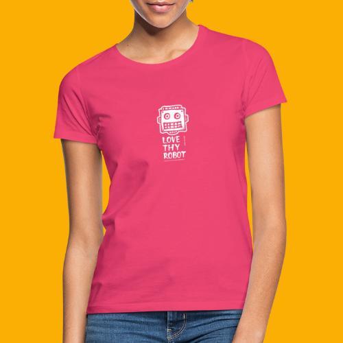 Dat Robot: Support this cute face - Vrouwen T-shirt