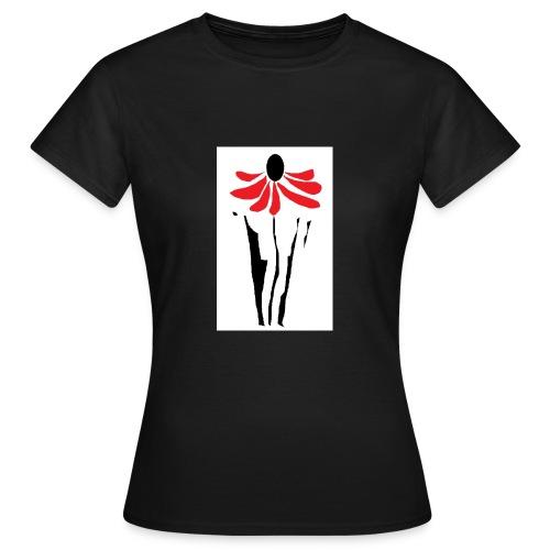 Blume Sonnenhut - Frauen T-Shirt