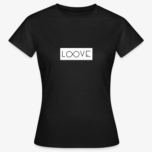 LOOVE Box Logo (SS18) - Maglietta da donna