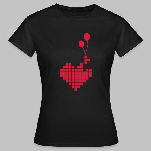 heart and balloons - Women's T-Shirt