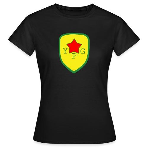 Mens Green YPG Support Tee - Naisten t-paita