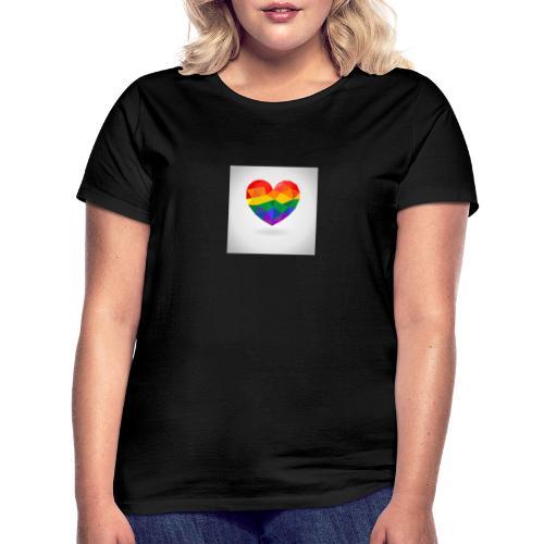 Lgbtq Herz - Frauen T-Shirt