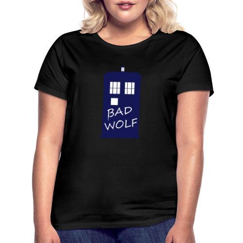 Bad Wolf Tardis - T-shirt Femme