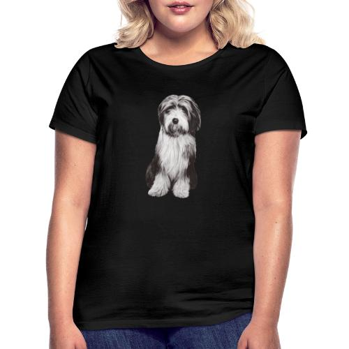 Bearded collie - T-shirt dam