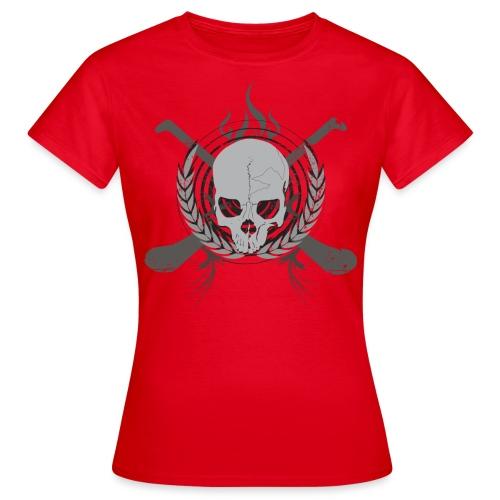 skullgreyblack - Women's T-Shirt