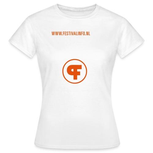 fi tshirt01 voor2 - Vrouwen T-shirt