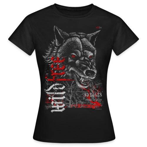 WILDFREE | WOLF - Frauen T-Shirt