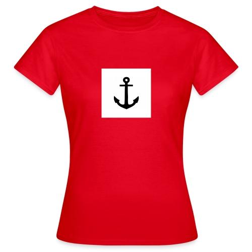 hoodie met anker - Vrouwen T-shirt