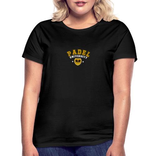 Padel Tennis Universitet Vintage - T-shirt dam