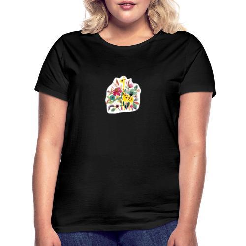 Jirafa paint nature - Camiseta mujer