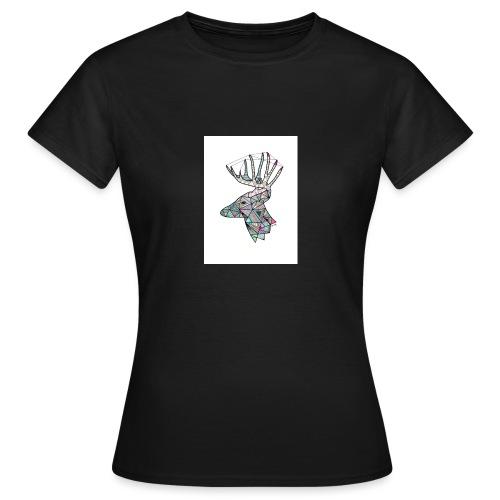 rein med farge - T-skjorte for kvinner