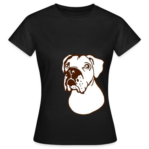 bokseri - Naisten t-paita