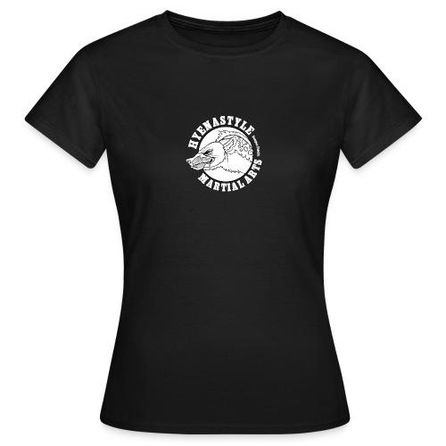 Whitelogo gif - Frauen T-Shirt