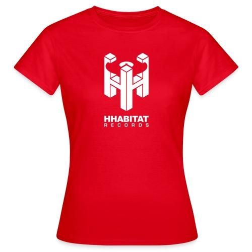 HHabitat Records Logo - Maglietta da donna