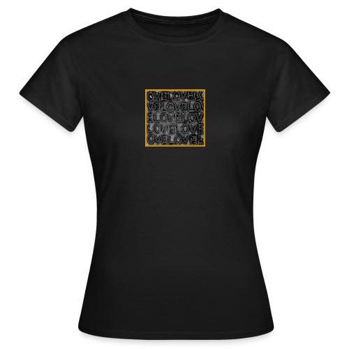 HB Loveovelgold jpg - Frauen T-Shirt