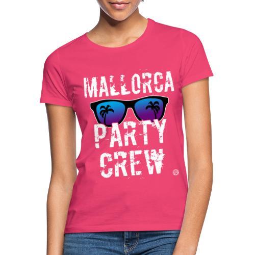 MALLORCA PARTY CREW Shirt - Dames Heren Dames - Vrouwen T-shirt