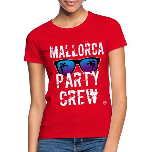 MALLORCA PARTY CREW Shirt - Damen Herren Frauen - Vrouwen T-shirt