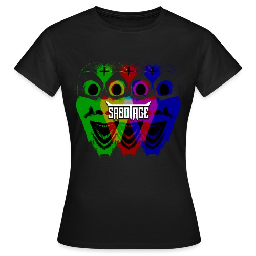 Masker Logo - Vrouwen T-shirt