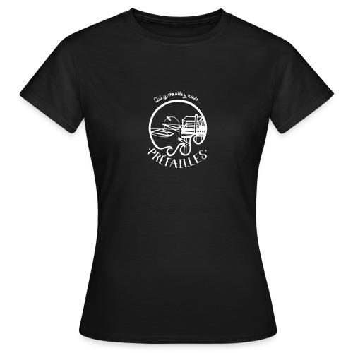 Les pêcheries de Prefailles - T-shirt Femme