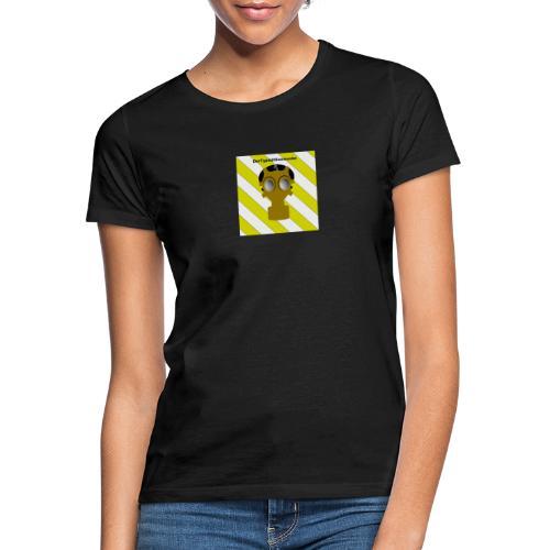 Gasmasken Logo 1 - Frauen T-Shirt