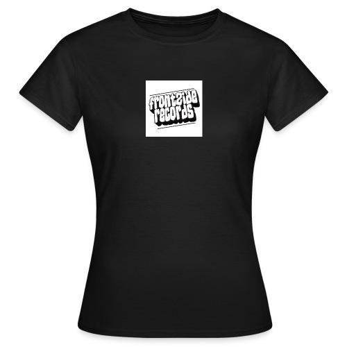 newfrontzidelogo - Dame-T-shirt