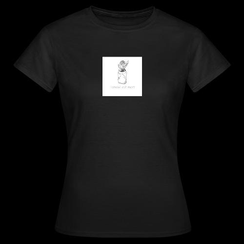 l'amour est mort - T-shirt Femme