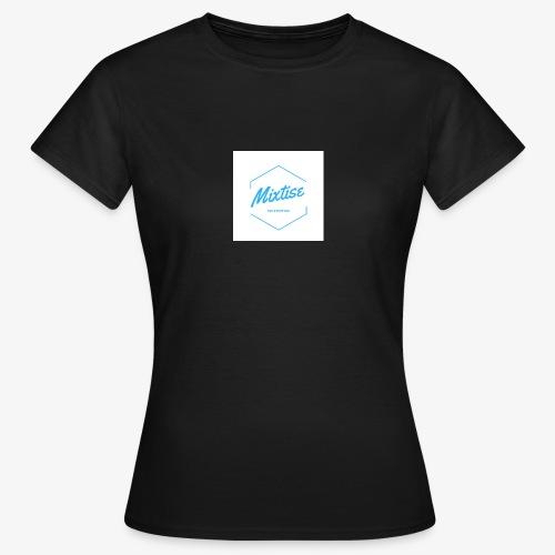 Mixtise bleu et blanc - T-shirt Femme