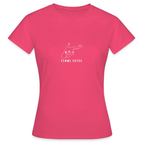 Girly Gun - Women's T-Shirt