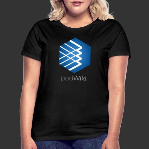 podWiki logo texte 1 png - T-shirt Femme