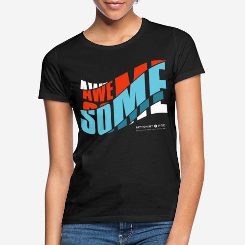 fantastische T-Shirt Design Diagonale - Frauen T-Shirt
