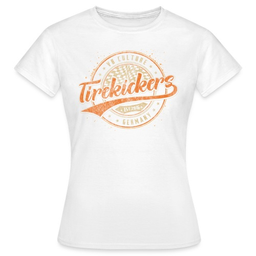 Tirekickers Racing - V8 Culture - Frauen T-Shirt