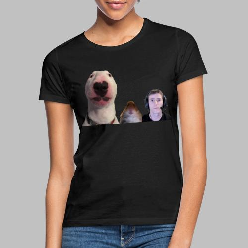 3 Amigos Walter, Hamster and Ltt. - Vrouwen T-shirt
