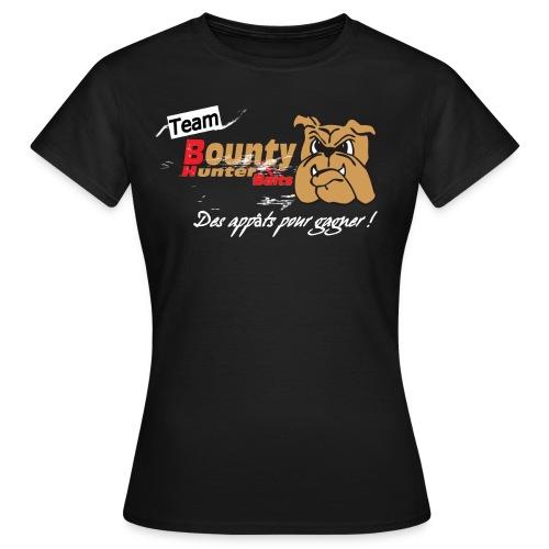 devantteeshirtteambhb png - T-shirt Femme