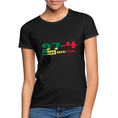 Design 974 ker kreol, rastafari - T-shirt Femme