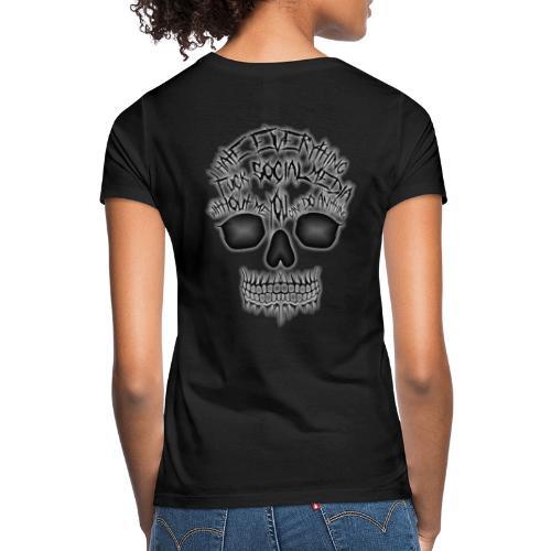 Fuck social media - T-shirt Femme