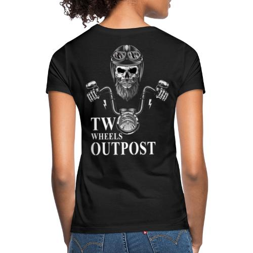 Two Wheels Outpost - Camiseta mujer