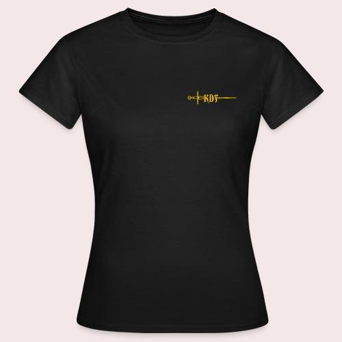 New KDF Logo G trans - Women's T-Shirt