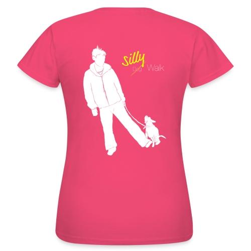Silly Walk png - Frauen T-Shirt