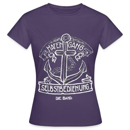 Hafengang Shirt Logo3 umgekehrt png - Frauen T-Shirt