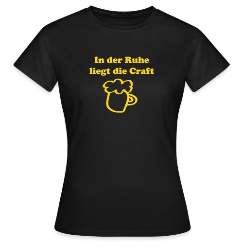 Craftbeer - Frauen T-Shirt