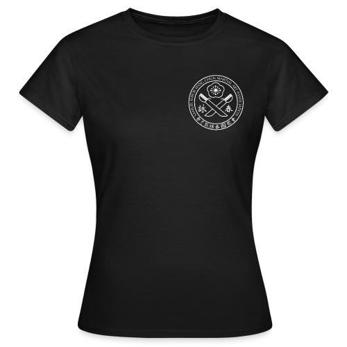 Samuel_Kwok_logo_black - Women's T-Shirt