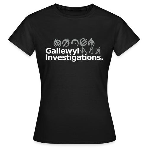 Gallewyl Investigations - Women's T-Shirt