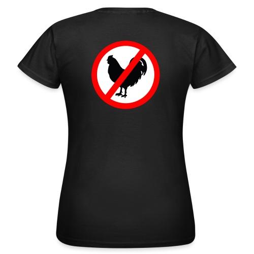 ei kukoille copy - Naisten t-paita