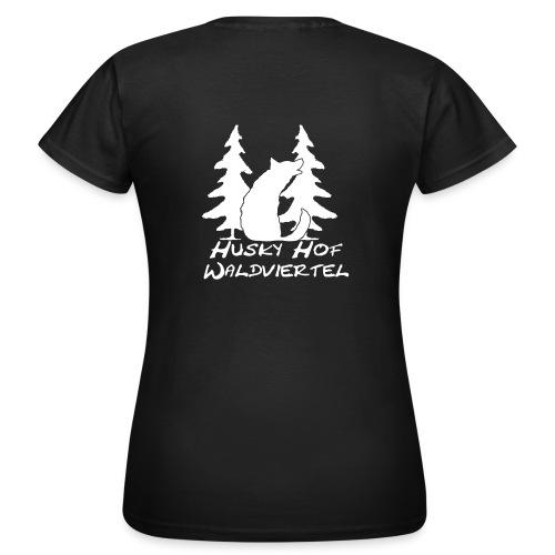 huskyhofwaldviertelbriefkopf4karand klan - Frauen T-Shirt