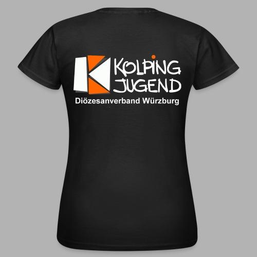 logo_kj_dv-wue_invert - Frauen T-Shirt