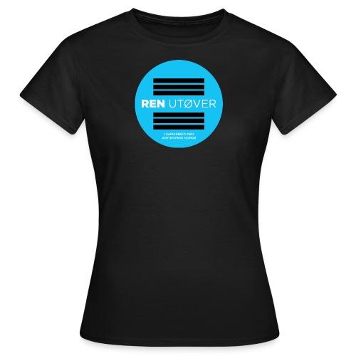 Ren Utøver ADN - T-skjorte for kvinner